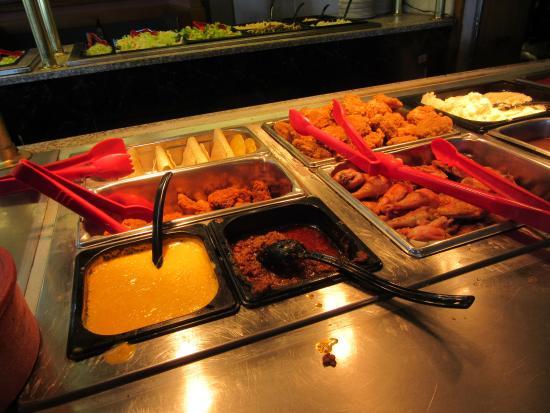 Springville, NY: Buffet - meats