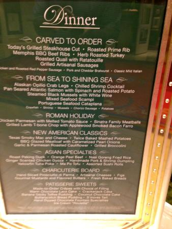Fantastic Menu At Wynn Buffet Picture Of The Buffet At Wynn Las Download Free Architecture Designs Xerocsunscenecom