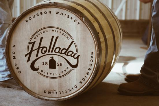 Weston, MO: Holladay Bourbon Barrel