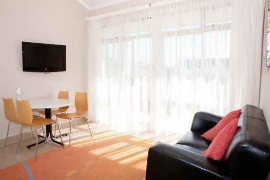 วางกานูอี, นิวซีแลนด์: Apartment Lounge