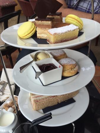Rowsley, UK: Delicious afternoon tea