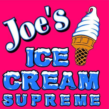 Syracuse, IN: Joe's Ice Cream Supreme