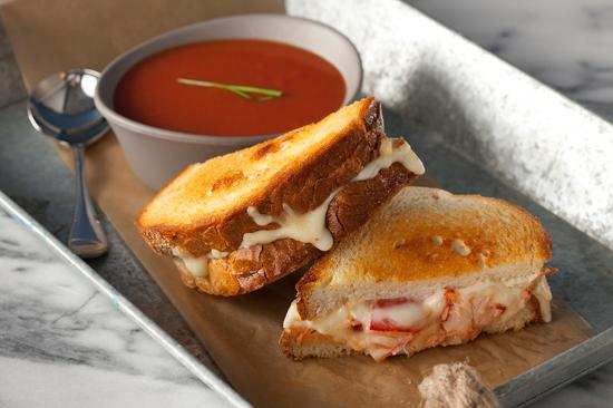 The Windrift Restaurant: Lobster Grilled Cheese