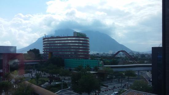 Hotel Antarisuite Cintermex: vista desde mi ventana
