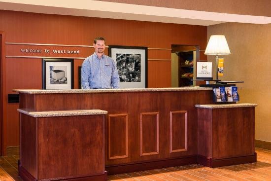 West Bend, WI: Front Desk/Check-In