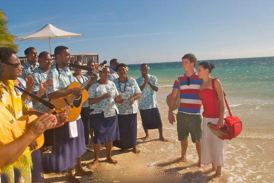 Кастэвей-Айленд (Калито), Фиджи: Castaway Island, Fiji - welcome3