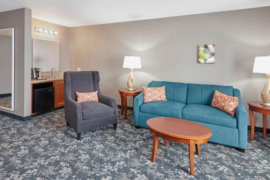 Hilton Garden Inn Schaumburg: King Suite Living Area