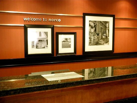 Norco, Καλιφόρνια: Front Desk