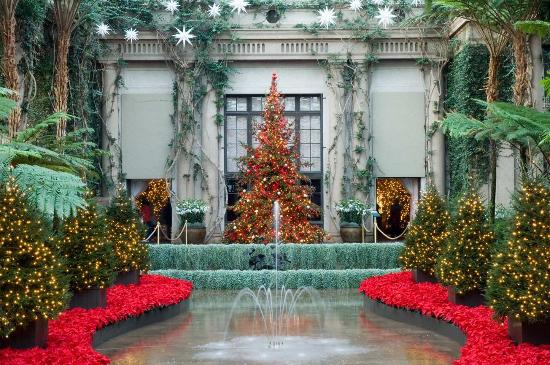 Hampton Inn & Suites Chadds Ford: Christmas at Longwood Gardens
