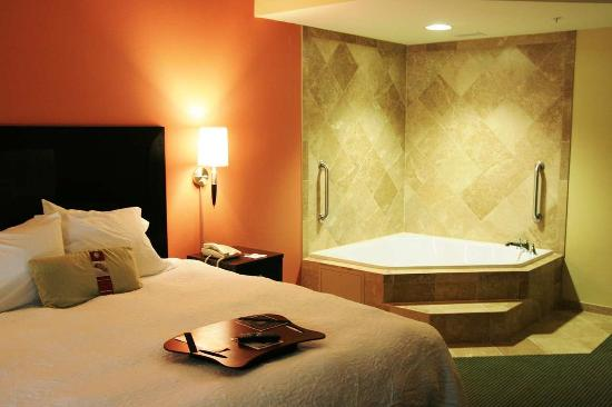 Hampton Inn & Suites Austin Lakeway: King Spa Room