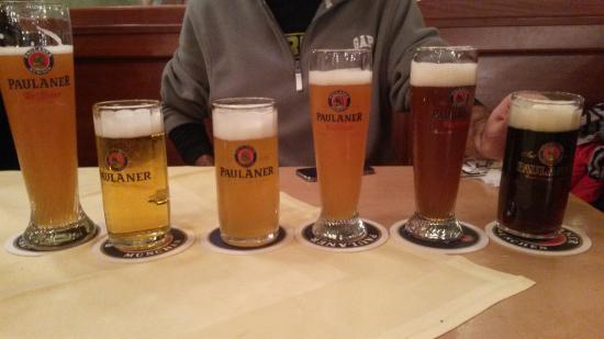 Paulaner Nockherberg: Degustação de cervejas