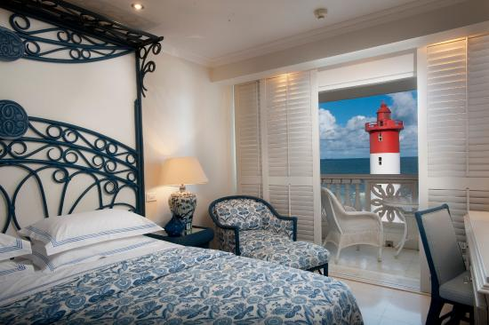 The Oyster Box: Luxury Sea Facing Room