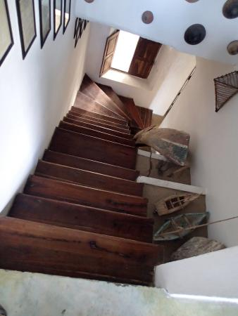 Ibo, Mozambique: Stairwell