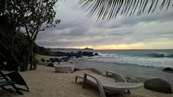Nail Bay, Virgin Gorda: View from beach