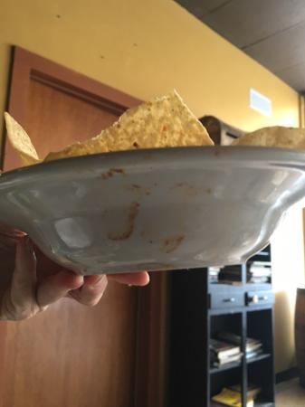Ashland, VA: Dirty bowl.
