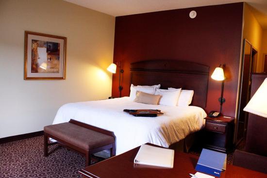 Hampton Inn Auburn: Standard King Room