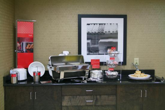 Wilson, Северная Каролина: Breakfast Serving Area
