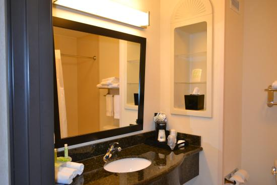 Holiday Inn Express Hotel & Suites Odessa: Guest Bathroom