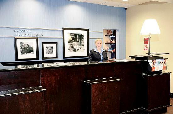 Hampton Inn Suites Flowery Branch Front Desk Reception