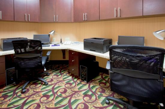 ‪‪Hampton Inn & Suites Ft Lauderdale / Miramar‬: Business Center‬