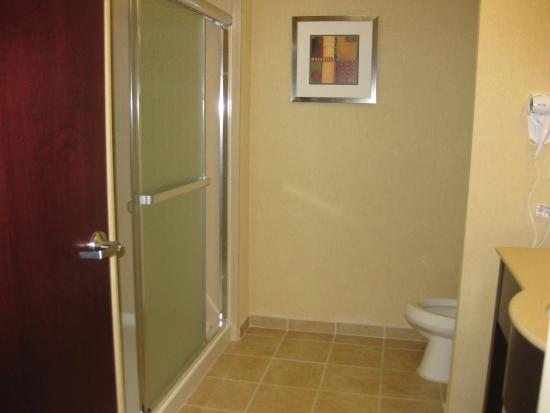 Hampton Inn Kingsland: King Bathroom
