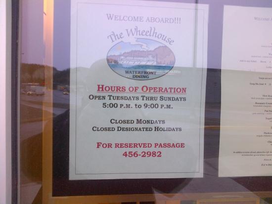 Wheelhouse Restaurant Aufnahme