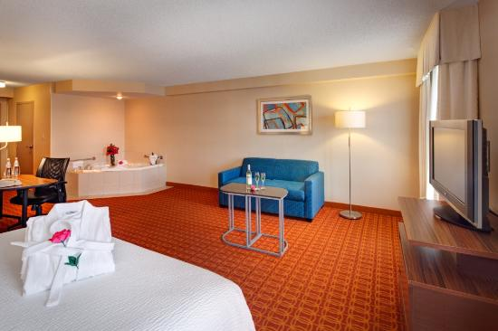 Fairfield Inn & Suites Toronto Airport: Spa King Suite