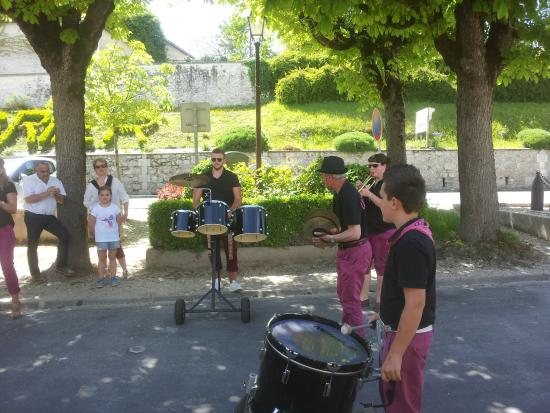 Montagrier, Frankrike: Local Band