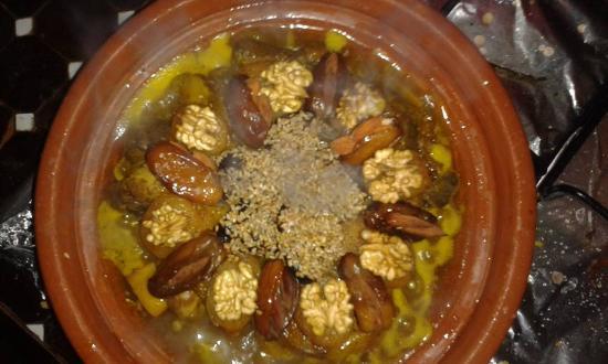Riad Dar Najat: Best Daily home food in Marrakech