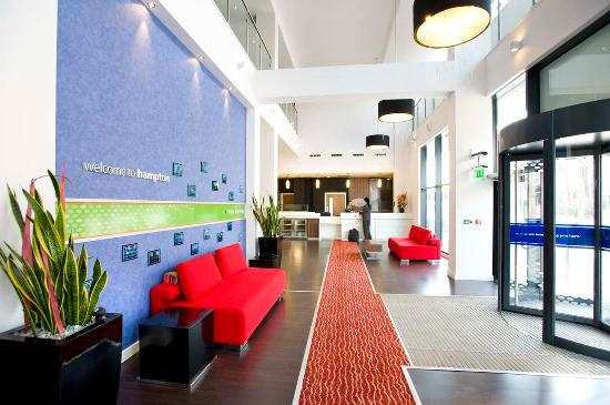 Hampton by Hilton Liverpool City Centre: Hotel Lobby