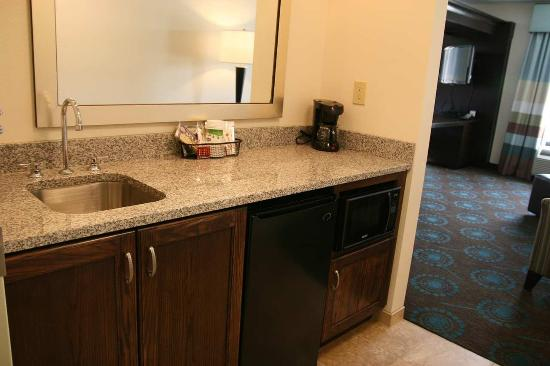 Wilder, KY: Suite Wet Bar