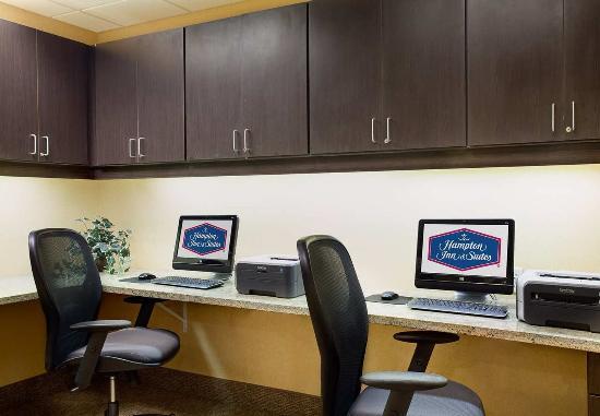 Hampton Inn & Suites Chicago-Saint Charles: Business Center