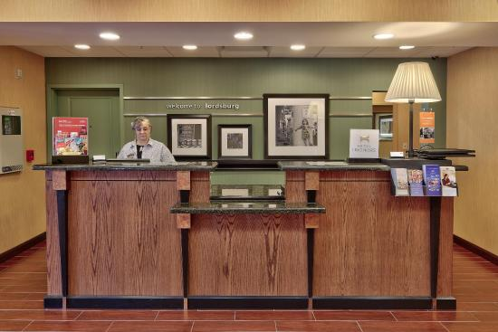 Lordsburg, Нью-Мексико: Front Desk