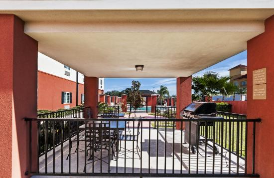 Candlewood Suites: Cook up some fun in our gazebo