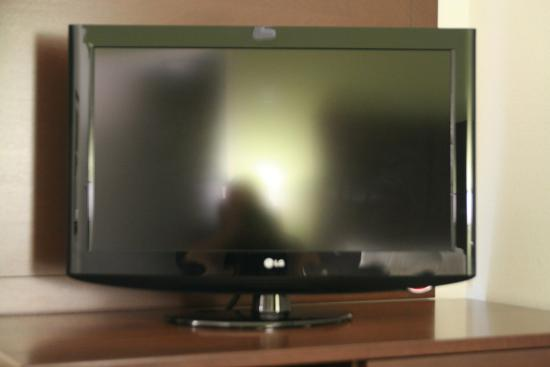 Hampton Inn Anderson/ Alliance Business Park: HD television