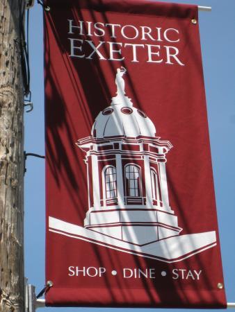 เอ็กซีเตอร์, นิวแฮมป์เชียร์: Town of Exeter Banner