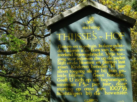Thijsse's Hof Heemtuin