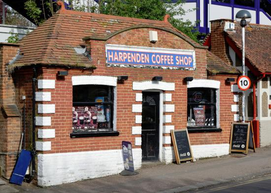 Hertfordshire, UK: Harpenden Coffee Shop
