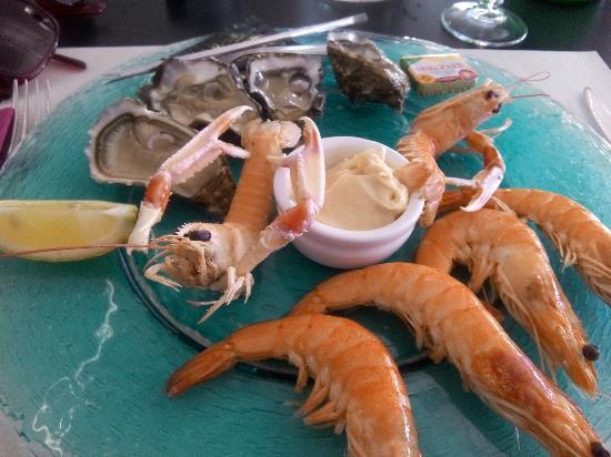 La Bree-les-Bains, Frankrig: Restaurant du Marche