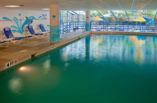 Doubletree By Hilton Hotel South Bend Indoor Heated Pool