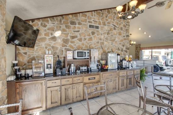 Gatesville, Teksas: Breakfast Area