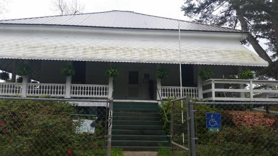 Georgiana, AL: Front of the Hank Williams Boyhood Home