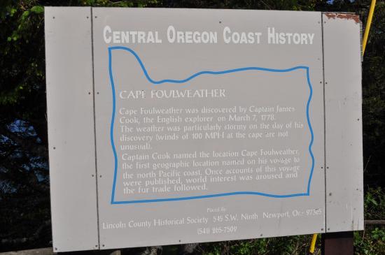 Depoe Bay, OR: Oregon sign