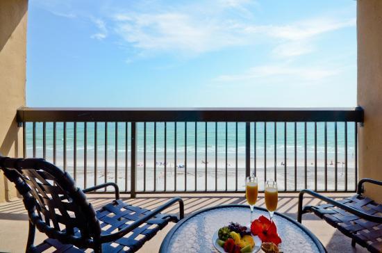 Jacksonville Beach, FL: Oceanfront Balcony