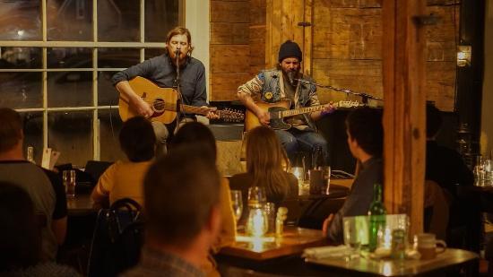 Mount Stewart, Kanada: Evening performance at Trailside