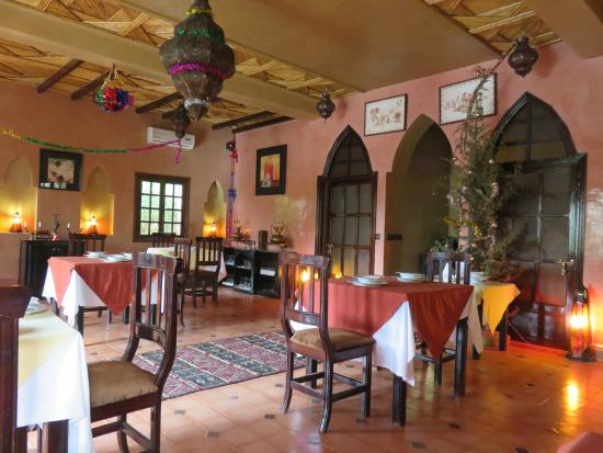 Ksar El Kabbaba: Dining room for breakfast, lunch, and dinner