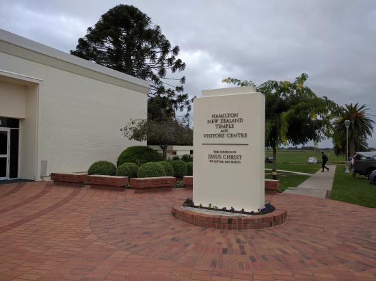 Hamilton New Zealand Temple: Entrance to reception