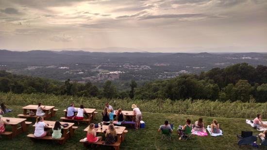 Charlottesville, Wirginia: Phone camera does not do the view justice