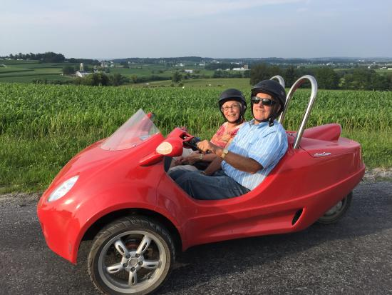 Strasburg, PA: Celebrating 57th wedding anniversary in the Scoot Coupe