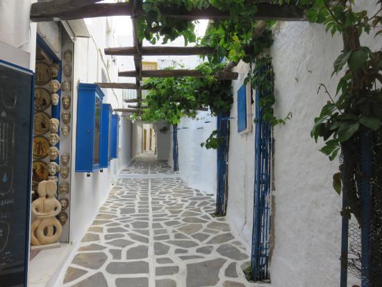 Naxos island old market - Billede af Old Town, Naxos By ...